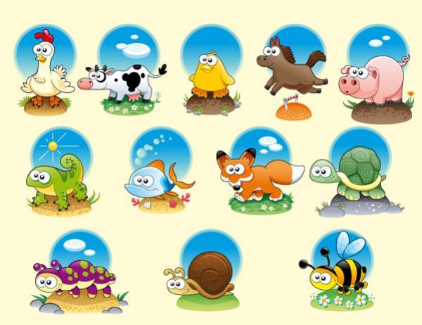 รูปโลโก้สัตว์ต่างๆ