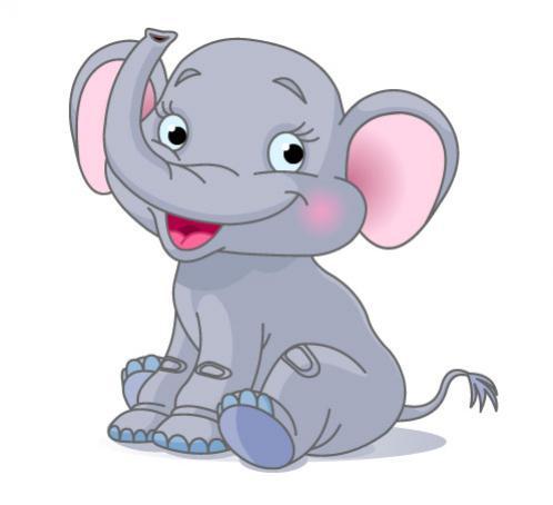 ช้างน้อยการ์ตูน