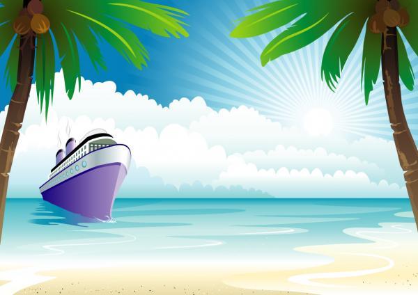 ชายทะเลเรือสำราญ