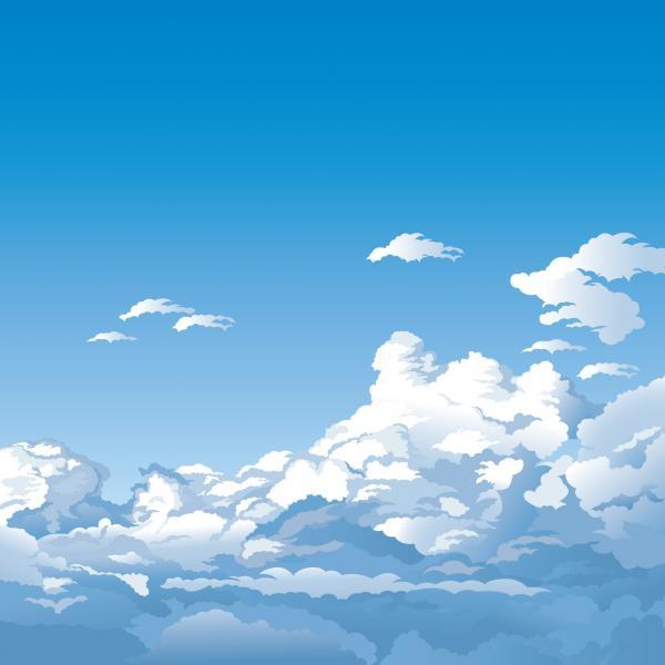 ภาพวิวท้องฟ้าและก้อนเมฆ