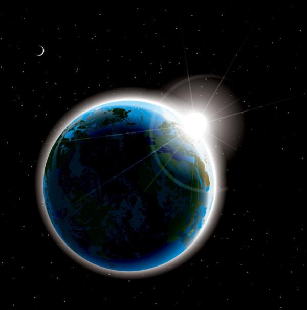 โลกกับแสงอาทิตย์2