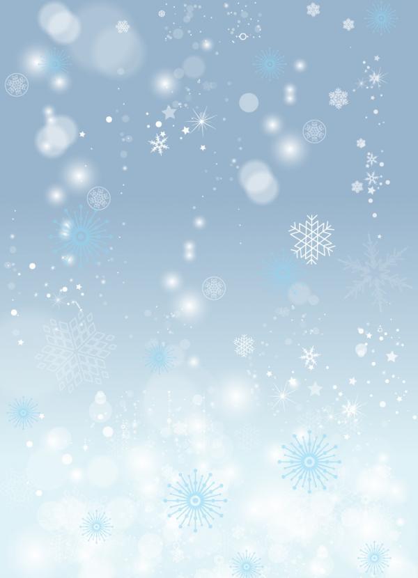 แบ็คกราวหิมะตก
