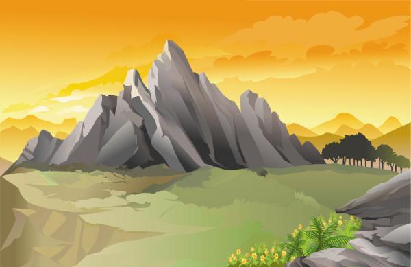 วิวภูเขาหิน