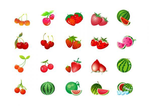 ไอคอนผลไม้