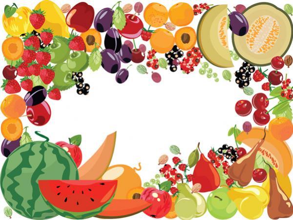 กรอบรูปผลไม้