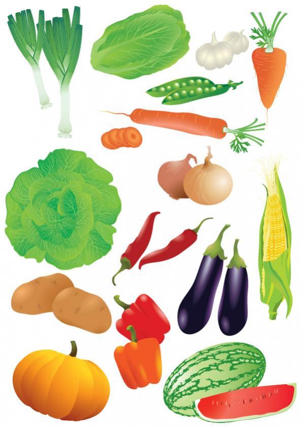 ผักผลไม้ต่างๆ