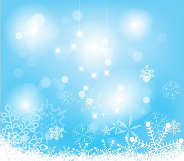 แบ็คกราวหิมะ