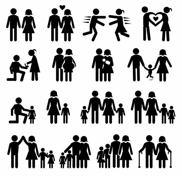 ภาพซิลลูเอทครอบครัว