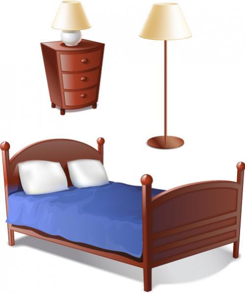 เตียงและเฟอร์นิเจอร์ห้องนอน