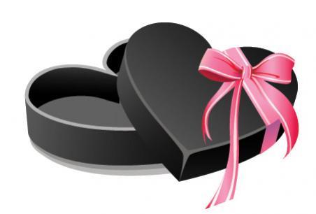 กล่องหัวใจสีดำ