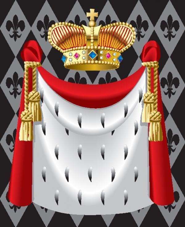 มงกุฎราชาและผ้าคลุม
