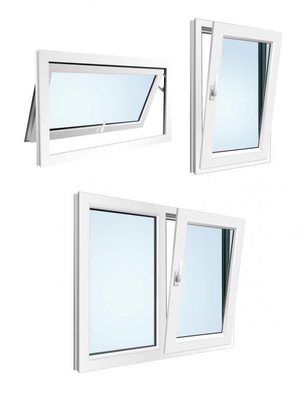 หน้าต่างกระจกอลูมิเนียม