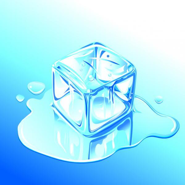 น้ำแข็งเวกเตอร์