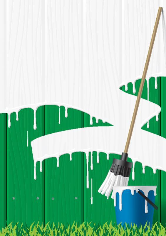 ทาสีรั้วบ้าน