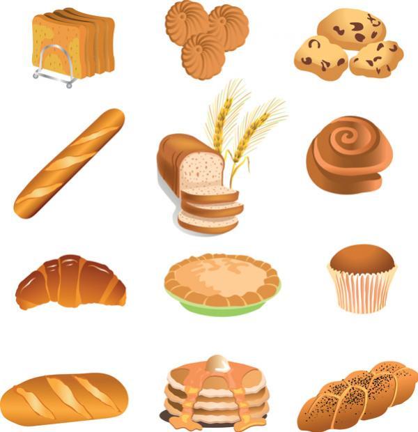 คุกกี้ขนมปัง