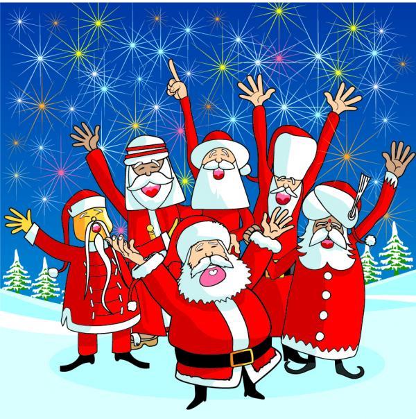 การ์ตูนซานตาครอส