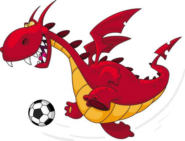 มังกรเล่นฟุตบอล