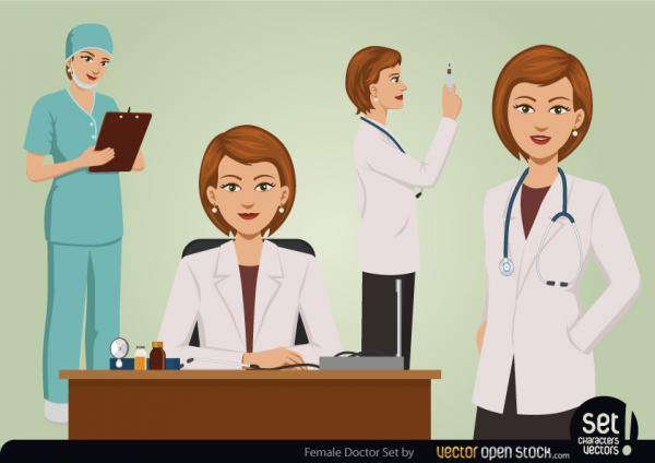 คุณหมอผู้หญิง