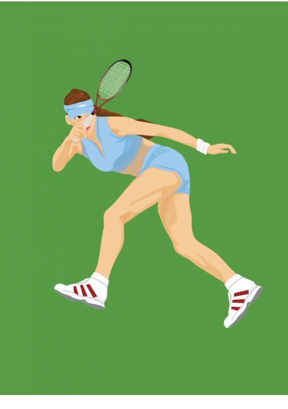 นักกีฬาเทนนิส