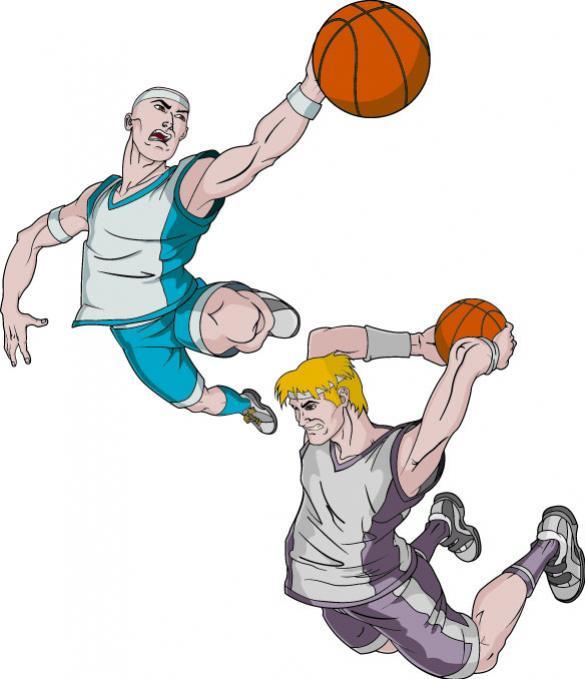 นักกีฬาบาสเกตบอล