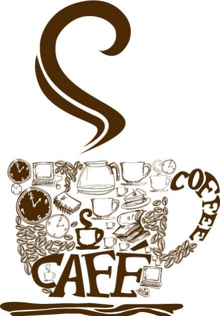 โลโก้แก้วกาแฟ