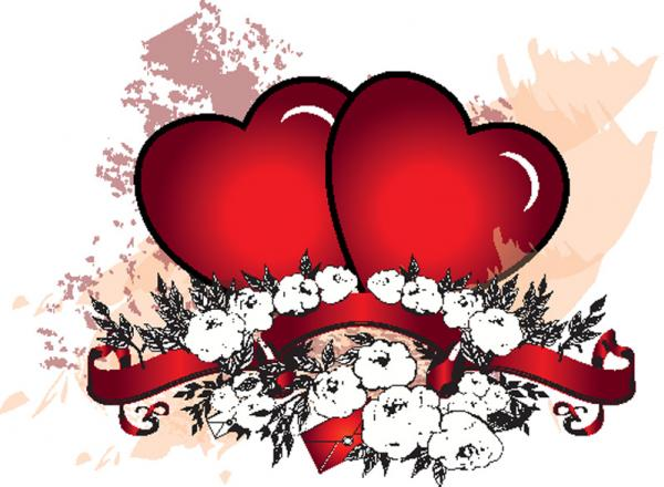 หัวใจสองดวงคู่กัน