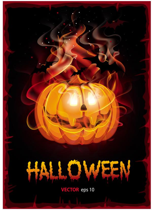 halloweenแบ็คกราว