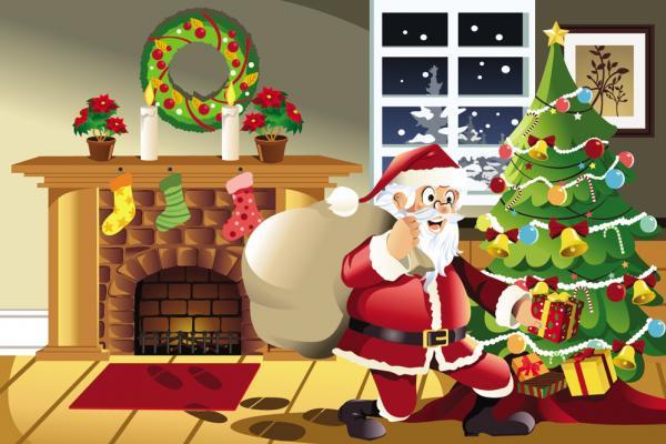 ซานตาคลอสวันคริสมาส