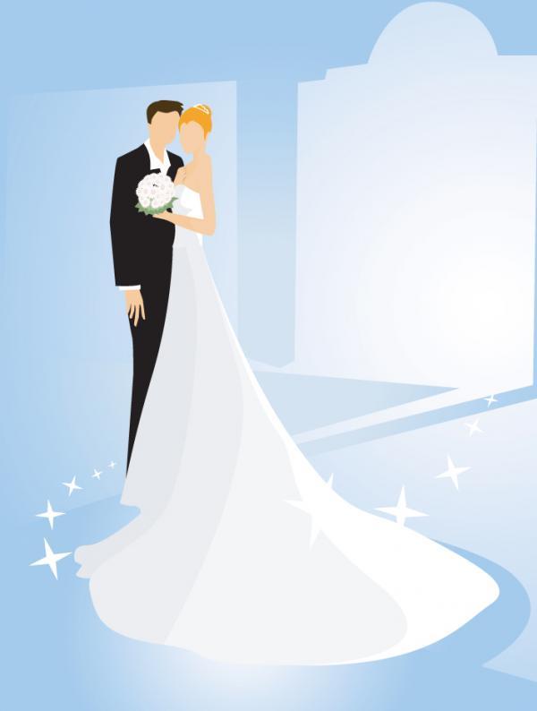 แต่งงานเจ้าบ่าวเจ้าสาว