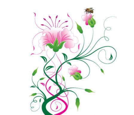 ดอกไม้กราฟฟิก
