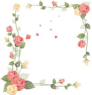 กรอบรูปดอกไม้