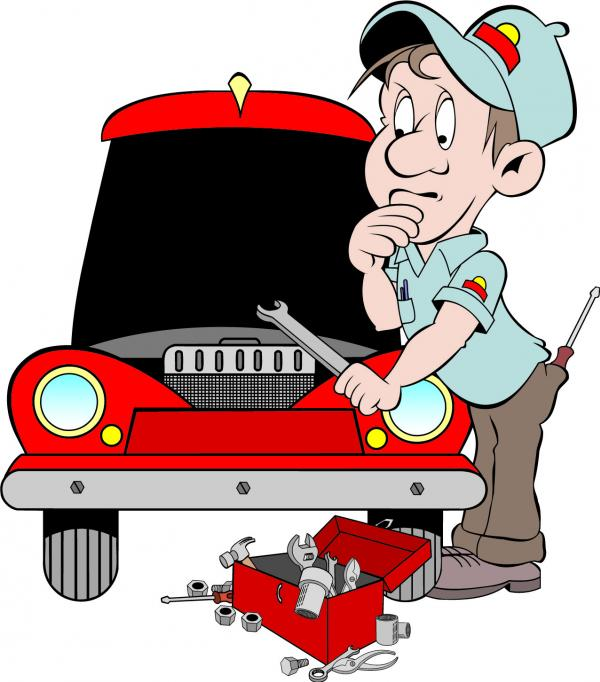 ช่างบริการซ่อมรถ