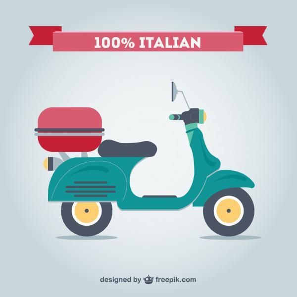 มอเตอร์ไซค์เวสป้าอิตาลี