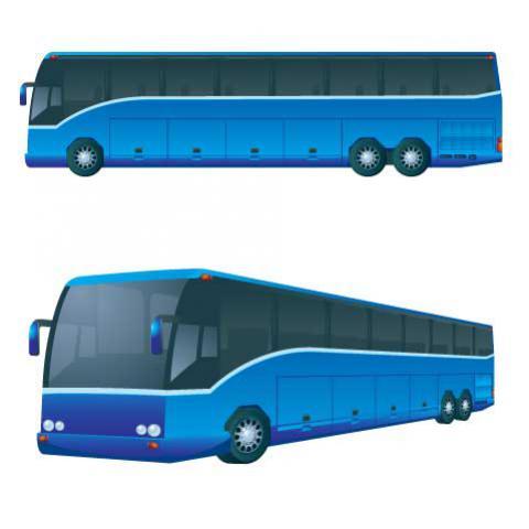 รถบัสสีน้ำเงิน