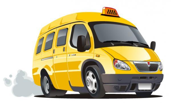 รถตู้สีเหลือง