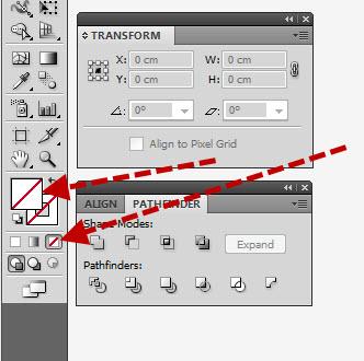 ตัดภาพบางส่วนด้วยโปรแกรม Illustrator 03