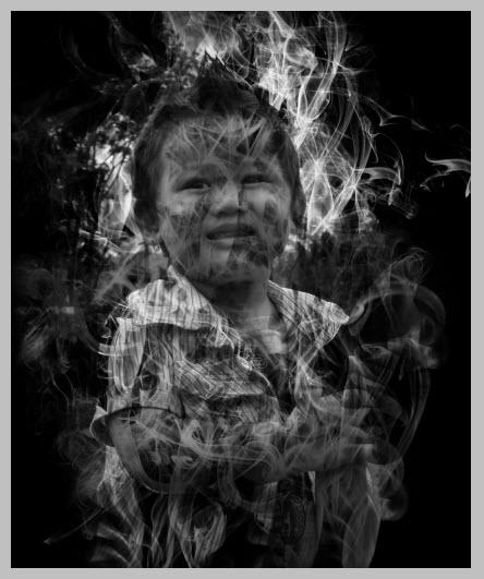 ภาพสไตล์ shadow smoke
